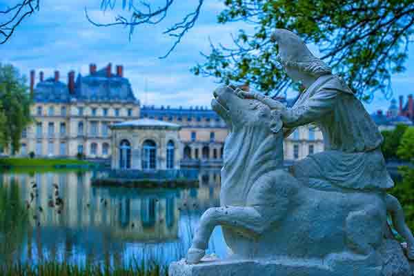 قصرفونتنبلو , Chacirc;teau de Fontainebleau